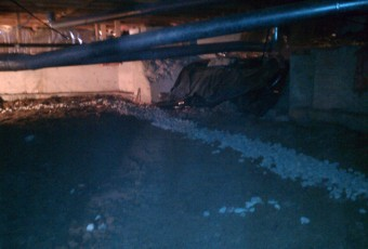 Crawlspace French Drain Installation - Portland OR - Vancouver WA