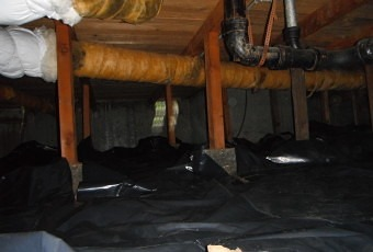 Crawlspace Vapor Barrier Installation - Portland OR - Vancouver WA